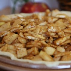 An easy recipe for apple pie filling that you can whip up in minutes.