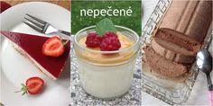 nepečené Muesli, Tiramisu, Panna Cotta, Cheesecake, Pudding, Ethnic Recipes, Desserts, Food, Tailgate Desserts