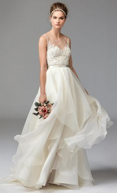 Watters Fall 2016 | https://www.theknot.com/content/watters-wedding-dresses-bridal-fashion-week-fall-2016-collection