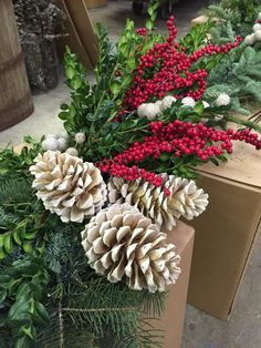 The Impatient Gardener: MASTER CLASS ON WINTER CONTAINER CONSTRUCTION