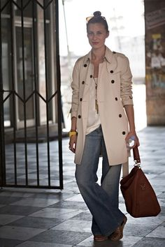 art of the trench - burberry - pink about it 04
