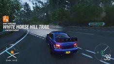Wrx Sti, Impreza, Forza Horizon 4, Dirt Racing, Night Driving, Subaru, 3d