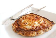 Um dos campeões de audiência do blog: ovo frito na torrada.