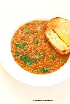 Brown Rice Mung Bean Kitchari - Mung Bean Stew   Vegan Richa