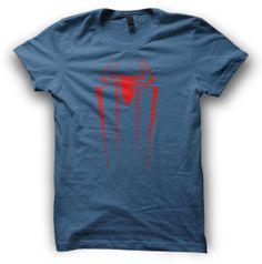 Spiderman Tshirt Mens SpiderMan T Shirt SXL by ParanoidPenguin, £11.49