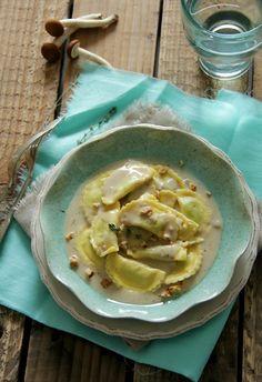Pasta Fresca con salsa de Setas :)