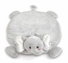 Bearington Baby Lil Spout Elephant Belly Blanket