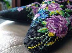 peranakan beaded slippers - Google Search