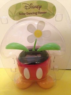 Solar Powered Dancing Bobble Disney Minnie Mouse in Pink and Green Winter Wear