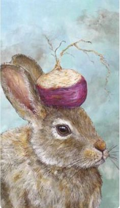 Vicki Sawyer | ACRYLIC | The Turnip Guardian