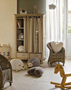 Hedgehog nursery! It's decided.