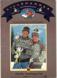 Dale of Norway Lillehammer 1994 Winter Olympic Games, Winter Games, History Of Olympics, Norway Design, Knit World, Norwegian Knitting, Headband Men, Lillehammer, Threading