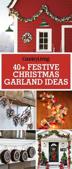 Spruce up your home this Christmas with these festive and beautiful ways to decorate with Christmas garlands. Add stockings and greenery to your mantel or staircase to give it that holiday comfort feeling for the entire family to enjoy!