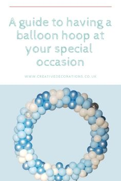 A Guide to having a Balloon Hoop at your special occasion. Small Balloons, The Balloon, Balloon Display, Balloon Decorations, Halloween Themes, Halloween Party, Birthday Parties, Birthday Gifts, Perfect Timing