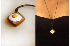 Junk - Eggs - Very Limited handmade jewels by Morgane Morel