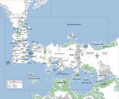 The world of westeros and surrounding lands from george rr martins spoilers everything got expanded known world map asoiaf gumiabroncs Choice Image
