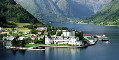 Kviknes Hotel in Balestrand:  a historic hotel in Western Norway