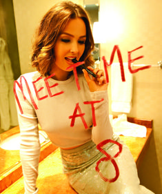 Camilla Luddington styled by Glamhive stylist Adena. Want Adena to style you? Book your style session today!