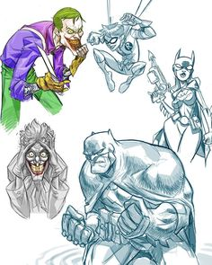 Ethereal Learn To Draw Comics Ideas. Fantastic Learn To Draw Comics Ideas. Batman Comic Art, Joker Art, Character Drawing, Character Illustration, Comic Character, Batman Drawing, Cartoon Sketches, Superhero Design, Dc Comics Art