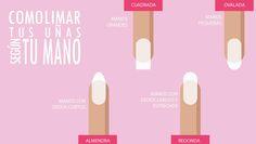 Cómo limar tus #uñas según la forma de tu mano:http://blog.quieru.com/2015/07/24/como-limar-tus-unas-segun-la-forma-de-tus-manos-0731312.html
