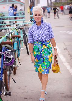One of the funnest ways to mix up your style if you feel you're in a slump, is to incorporate…