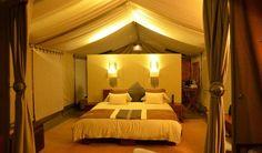 Tent interior, Naboisho Camp, Masai Mara, Kenya