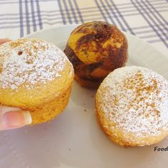 Μάφινς με ελιά (νηστίσιμα) - Food States Doughnut, Hamburger, Muffin, Sweets, Bread, Candy, Breakfast, Desserts, Blog