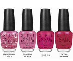 OPI Teams Up With Minnie Mouse!