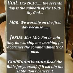 The traditions of man do not override the commandments of God