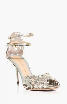 Margherita metallic leather sandals