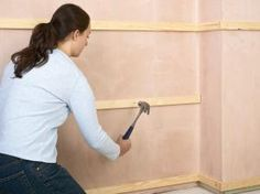 How to Install Tongue-and-Groove Wainscot Paneling | how-tos | DIY