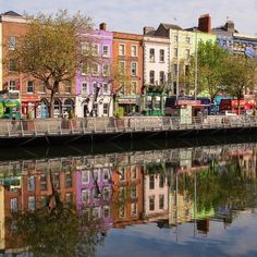 It's a beautiful winter day in Dublin. The river Liffey boardwalk is the ideal place to grab a coffee and the morning papers and enjoy a quiet reflection in the heart of Dublin city.