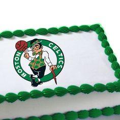 Boston Celtics Basketball Happy Birthday Cake Om Nom Jpg 236x236