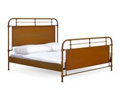 Bett Titanio 180x200 aus Stahl