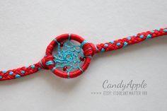 CandyApple Dreamcatcher Bracelet | ItDoesntMatterInk on Etsy