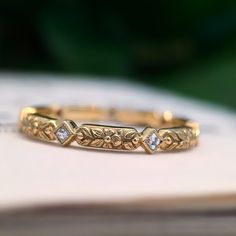 """The """"Sophia"""" Eternity Band - CvB Paraiso Collection Cute Jewelry, Jewelry Rings, Vintage Jewelry, Jewelry Accessories, Jewelry Design, Skull Jewelry, Jewellery, Eternity Bracelet, Eternity Bands"""