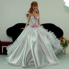 Aphrodai HandMade Fashion Royalty Outfit Barbie Toy Dolls Wedding Bride dress | eBay