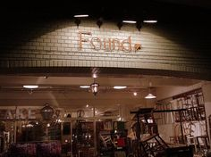 "Coffee shop of name called ""Found"". Meguro, Tokyo."