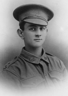 27 July 1916, Private Oliver A. Hellyer killed in action at Pozières, Somme. Unit: D Company, 18th Battalion, Australian Imperial Force. © IWM