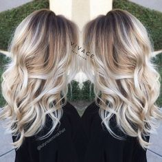 blonde balayage highlights by kalyn sieminski at vivace salon in del mar ca