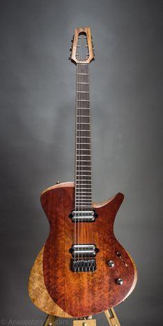 Anasontzis custom guitars