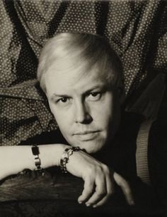 Self portrait Carl Van Vechten (1880-1964) -  American writer and artistic photographer who was a patron of the Harlem Renaissance and the literary executor of Gertrude Stein.