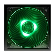 SST-AP121-Green: SilverStone created Air Penetrator fan specifically designed for intake fan applications, where airflow rating is not a priority. The design goal for Air Penetrator is to focus airflow into a column that can be channeled through various obstacles inside the modern computer case for more efficient cooling performance. Computer Case, To Focus, Goal, Fans, Green, Modern, Design, Trendy Tree