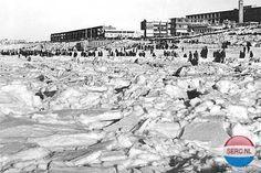 Zandvoort: Het Strand bevroren omstreeks 1963 Amsterdam, No Time For Me, Netherlands, Paris Skyline, Holland, New York City, Dutch, Dolores Park, The Past