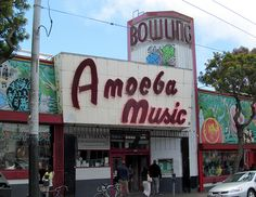 Amoeba Records. Haight Street, San Francisco.......my ultimate heaven. Music, music, oh and music :)