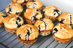 Blueberry muffins for today dessert! - News - Bubblews Toddler Meals, Blue Berry Muffins, Cakes And More, Blueberry, Homemade, Cookies, Fruit, Breakfast, Desserts