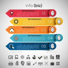 Business Infographic Template PSD, Vector EPS, AI Illustrator. Download here: https://graphicriver.net/item/business-infographic/16792632?ref=ksioks