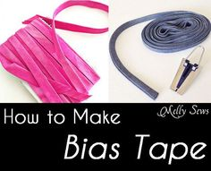 Tutorial: How to make continuous bias tape