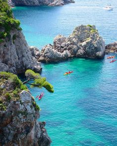 Sea kayaking in Dubrovnik, Croatia