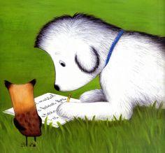El Roc estima els llibres i li encanten les paraules. Un dia té la idea d'escriure una història, però no sap què escriure. El seu mestre, el petit canari, l'aconsellarà. El Roc observa el seu entorn fins que troba un tema i les paraules adequades per escriure una història molt bonica. Parrot, Snoopy, Bird, Animals, Fictional Characters, Parrot Bird, Animales, Animaux, Birds